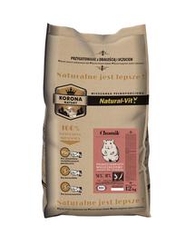NATURAL-VIT Korona Natury Amestec complet pentru hamsteri 12 kg
