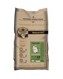 NATURAL-VIT Korona Natury hrana completa pentru chinchila 10 kg