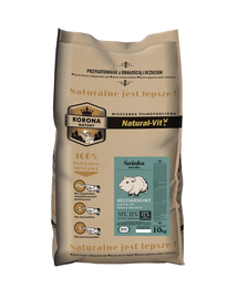 NATURAL-VIT Korona Natury hrana completa pentru porcusori de Guineea 10 kg