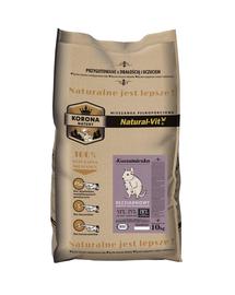 NATURAL-VIT Korona Natury Amestec complet de veverițe Degu 10 kg