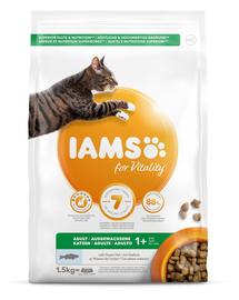 IAMS for Vitality Hrana uscata pentru cu peste oceanic pisici adulte 1,5kg