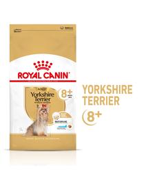 ROYAL CANIN Yorkshire Terrier Adult 8+ hrana uscata caine senior, 500 g