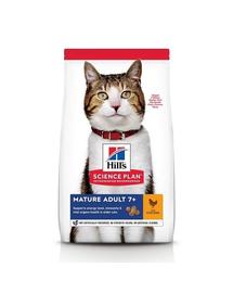 HILL'S Science Plan Feline Mature (7+) Adult cu pui 3 kg