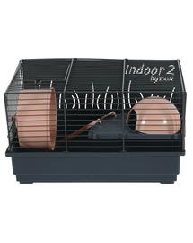 ZOLUX Cușcă pentru hamster INDOOR2 40 roz pudrat