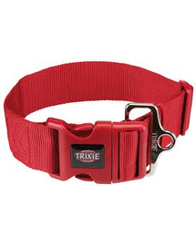 TRIXIE Zgardă Premium XXL, M–L: 40–60 cm/50 mm, roșu