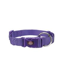 TRIXIE Zgardă Premium, S–M: 30–45 cm/15 mm, violet