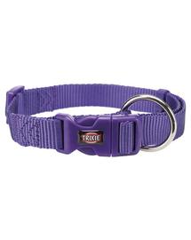 TRIXIE Zgardă Premium, L–XL: 40–65 cm/25 mm, violet