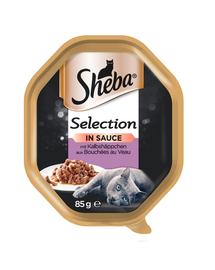 SHEBA Selection vițel în sos 22 x 85 gr