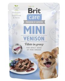 BRIT Care Mini Venison hrană umedă pentru câini de talie mică, vânat 85 g