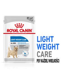 ROYAL CANIN Light Weight Care Hrană umedă pentru câini cu tendință de îngrășare 12 x 85 g