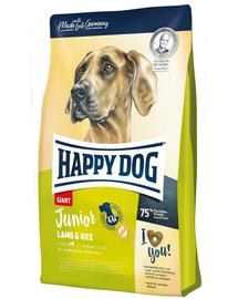 HAPPY DOG Junior Giant Lamb & Rice, miel și orez 4 kg