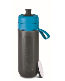 BRITA Sticlă cu filtru Fill&Go Active 0,6 L, albastru