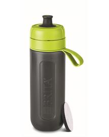 BRITA Sticlă cu filtru Fill&Go Active 0,6 L, lime