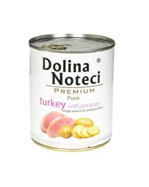 DOLINA NOTECI Pure curcan și cartofi 800 g