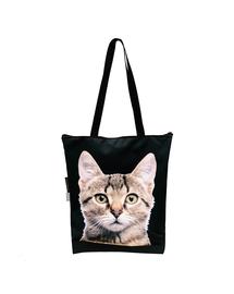 FERA Geantă clasică cu fermoar, pisică