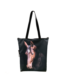 FERA Geantă clasică cu fermoar, cal