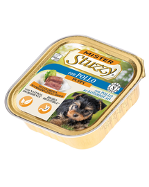 STUZZY Mister Dog hrană umedă pentru câini juniori, cu pui 150 g