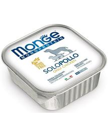 MONGE Dog Monoprotein hrană umedă pentru câini, cu pui 150 g