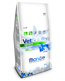 MONGE Vet Solution Dog Obesity hrană uscată dietetică pentru câini cu diabet 2 kg