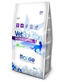 MONGE Vet Solution Cat Gastrointestinal hrană uscată dietetică pentru pisici cu probleme gastrointestinale 400g