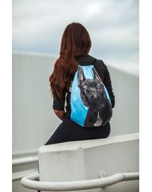 FERA Rucsac cu imprimeu Bulldog francez