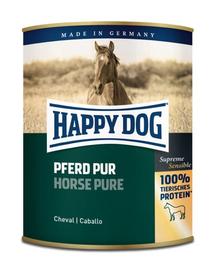 HAPPY DOG Wild Pur Hrana umeda pentru caini, 100% carne de cal, 800 g