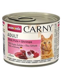 ANIMONDA Carny Adult vită curcan și creveți 200 g