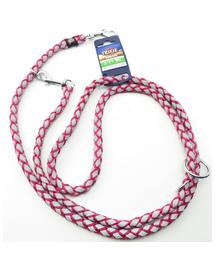 TRIXIE Cavo Reflect Lesă reglabilă pentru câini, fuchsia: S–M: 2.00 m/o 12 mm
