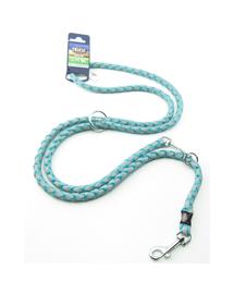 TRIXIE Cavo Reflect Lesă reglabilă pentru câini, albastru: S–M: 2.00 m/o 12 mm