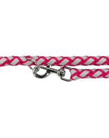 TRIXIE Cavo Reflect Lesă reglabilă pentru câini, fuchsia: L–XL: 2.00 m/o 18 mm