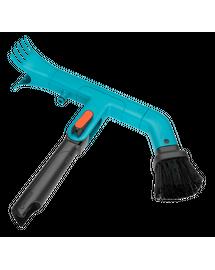 GARDENA Combisystem - Instrument de curățare a jgheaburilor cu mâner telescopic 210-390 cm