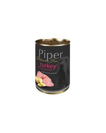 DOLINA NOTECI PIPER Platinum Pure hrana umeda pentru cainii cu alergii, 400 g