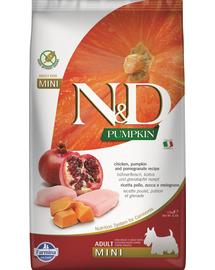FARMINA N&D Pumpkin Adult Mini - Hrană uscată pentru câini cu pui și rodie 2,5 kg