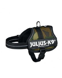 TRIXIE Ham Julius-K9®, 2/L–XL: 71–96 cm/50 mm, camo