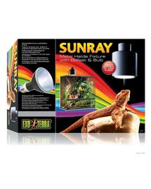 EXO TERRA Lampă halogen SunRay cu bec și balast 35w