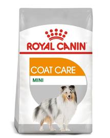 Royal Canin Mini Coat Care Adult hrana uscata caine pentru blana sanatoasa si lucioasa, 8 kg