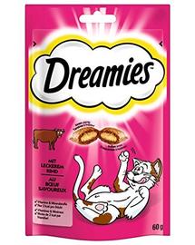 DREAMIES cu vită 60 g x6