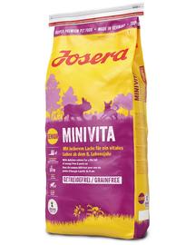 JOSERA MiniVita hrana uscata caini seniori talie mica 5 x 900 g (4+1 GRATIS)
