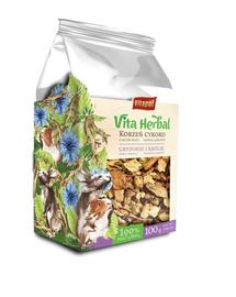 VITAPOL Vita Herbal Cicoare uscata pentru rozatoare si iepuri, 100 g