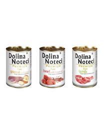DOLINA NOTECI Premium SET hrana umeda caini adulti 3 x 400 g