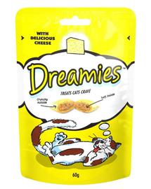 DREAMiES recompense pentru pisici cu branza 60 g 3+1 GRATIS