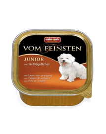 ANIMONDA Vom Feinsten Puppy Hrana umeda cu ficat de pui pentru cainii junior 5 x 150 g
