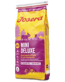 JOSERA Mini Deluxe hrana uscata pentru caini adulti talie mica 5 x 900g (4+1 GRATIS)