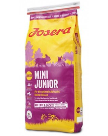 JOSERA Mini Junior hrana uscata caini juniori talie mica 5 x 900g (4+1 GRATIS)