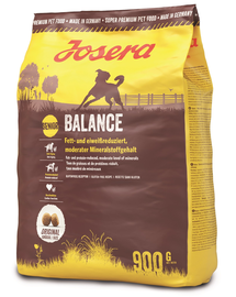 JOSERA Dog Balance hrana uscata pentru caini seniori 5 x 900 g (4+1 GRATIS)