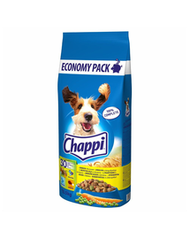 CHAPPI MIX hrana uscata caini adulti cu pasare, legume + vita, pasare si legume 27 kg (2 x 13,5 kg)