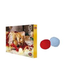 TRIXIE SET Calendar Advent cu recompense pentru pisici + minge din lana pentru pisica