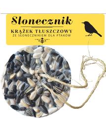 NATURAL-VIT Korona Natury, Hrana pasari, disc de grasime cu seminte de floarea-soarelui,130 g
