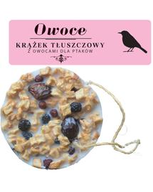 NATURAL-VIT Korona Natury, Hrana pasari, disc cu grasime si fructe, 130 g