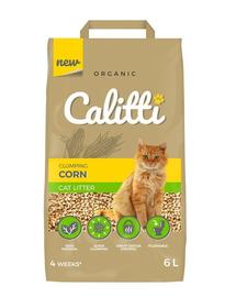 CALITTI Așternut din boabe de porumb, pentru pisici 6 L